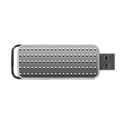 Gradient Oval Pattern Portable Usb Flash (two Sides) by Simbadda