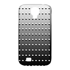 Gradient Oval Pattern Samsung Galaxy S4 Classic Hardshell Case (pc+silicone) by Simbadda