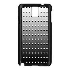 Gradient Oval Pattern Samsung Galaxy Note 3 N9005 Case (black) by Simbadda
