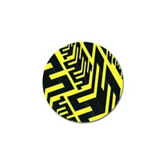 Pattern Abstract Golf Ball Marker by Simbadda
