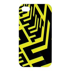 Pattern Abstract Apple Iphone 4/4s Hardshell Case by Simbadda