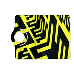 Pattern Abstract Kindle Fire Hd (2013) Flip 360 Case by Simbadda