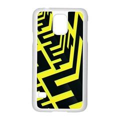 Pattern Abstract Samsung Galaxy S5 Case (white) by Simbadda