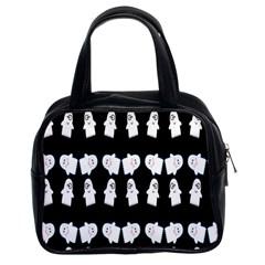 Cute Ghost Pattern Classic Handbags (2 Sides) by Simbadda