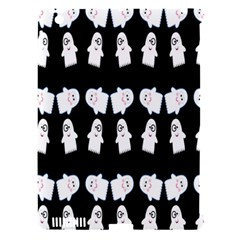 Cute Ghost Pattern Apple Ipad 3/4 Hardshell Case (compatible With Smart Cover) by Simbadda