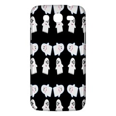 Cute Ghost Pattern Samsung Galaxy Mega 5 8 I9152 Hardshell Case  by Simbadda