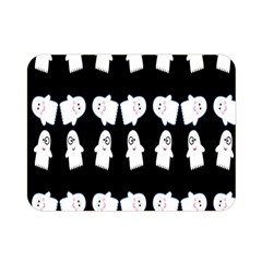Cute Ghost Pattern Double Sided Flano Blanket (Mini)