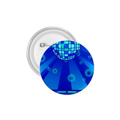 Disco Ball Retina Blue Circle Light 1 75  Buttons by Alisyart