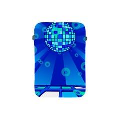 Disco Ball Retina Blue Circle Light Apple Ipad Mini Protective Soft Cases by Alisyart