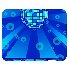 Disco Ball Retina Blue Circle Light Double Sided Flano Blanket (medium)  by Alisyart