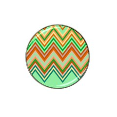 Chevron Wave Color Rainbow Triangle Waves Hat Clip Ball Marker by Alisyart
