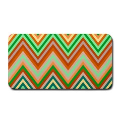 Chevron Wave Color Rainbow Triangle Waves Medium Bar Mats by Alisyart