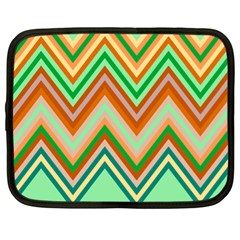 Chevron Wave Color Rainbow Triangle Waves Netbook Case (xl)  by Alisyart