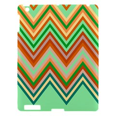 Chevron Wave Color Rainbow Triangle Waves Apple Ipad 3/4 Hardshell Case by Alisyart