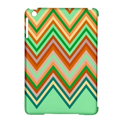 Chevron Wave Color Rainbow Triangle Waves Apple Ipad Mini Hardshell Case (compatible With Smart Cover) by Alisyart