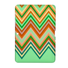 Chevron Wave Color Rainbow Triangle Waves Samsung Galaxy Tab 2 (10 1 ) P5100 Hardshell Case  by Alisyart