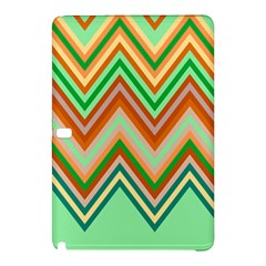 Chevron Wave Color Rainbow Triangle Waves Samsung Galaxy Tab Pro 12 2 Hardshell Case by Alisyart