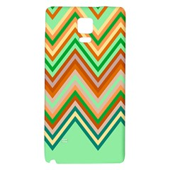 Chevron Wave Color Rainbow Triangle Waves Galaxy Note 4 Back Case by Alisyart