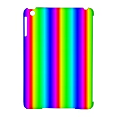 Rainbow Gradient Apple Ipad Mini Hardshell Case (compatible With Smart Cover) by Simbadda