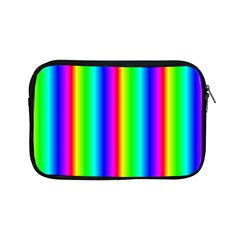 Rainbow Gradient Apple Ipad Mini Zipper Cases by Simbadda