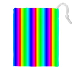 Rainbow Gradient Drawstring Pouches (xxl) by Simbadda