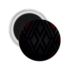Abstract Dark Simple Red 2 25  Magnets by Simbadda