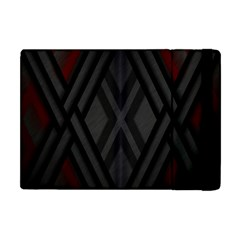 Abstract Dark Simple Red Apple Ipad Mini Flip Case by Simbadda