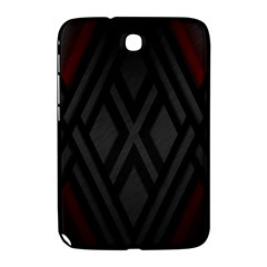 Abstract Dark Simple Red Samsung Galaxy Note 8 0 N5100 Hardshell Case  by Simbadda
