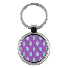 Disco Ball Wallpaper Retina Purple Light Key Chains (round)  by Alisyart