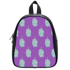Disco Ball Wallpaper Retina Purple Light School Bags (small)  by Alisyart