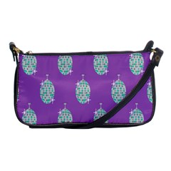 Disco Ball Wallpaper Retina Purple Light Shoulder Clutch Bags by Alisyart