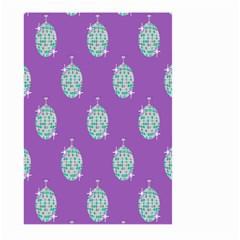 Disco Ball Wallpaper Retina Purple Light Large Garden Flag (two Sides) by Alisyart