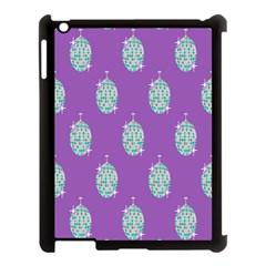 Disco Ball Wallpaper Retina Purple Light Apple Ipad 3/4 Case (black) by Alisyart