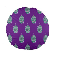 Disco Ball Wallpaper Retina Purple Light Standard 15  Premium Round Cushions by Alisyart