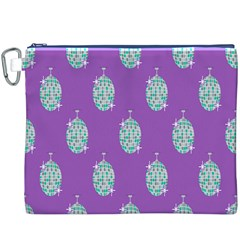 Disco Ball Wallpaper Retina Purple Light Canvas Cosmetic Bag (xxxl) by Alisyart