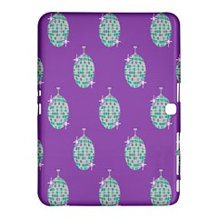 Disco Ball Wallpaper Retina Purple Light Samsung Galaxy Tab 4 (10 1 ) Hardshell Case  by Alisyart