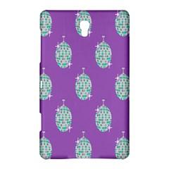 Disco Ball Wallpaper Retina Purple Light Samsung Galaxy Tab S (8 4 ) Hardshell Case  by Alisyart