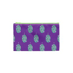 Disco Ball Wallpaper Retina Purple Light Cosmetic Bag (xs) by Alisyart