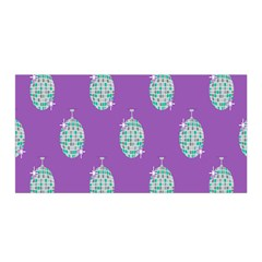 Disco Ball Wallpaper Retina Purple Light Satin Wrap by Alisyart
