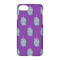 Disco Ball Wallpaper Retina Purple Light Apple Iphone 7 Hardshell Case by Alisyart