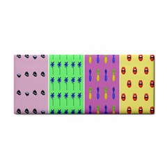 Eye Coconut Palms Lips Pineapple Pink Green Red Yellow Cosmetic Storage Cases by Alisyart