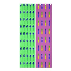 Eye Coconut Palms Lips Pineapple Pink Green Red Yellow Shower Curtain 36  X 72  (stall)  by Alisyart