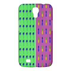 Eye Coconut Palms Lips Pineapple Pink Green Red Yellow Samsung Galaxy Mega 6 3  I9200 Hardshell Case by Alisyart