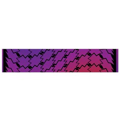 Colorful Red & Blue Gradient Background Flano Scarf (small) by Simbadda