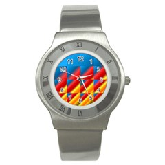 Gradient Map Filter Pack Table Stainless Steel Watch by Simbadda