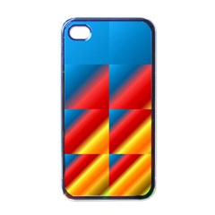 Gradient Map Filter Pack Table Apple Iphone 4 Case (black) by Simbadda