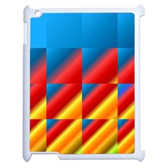 Gradient Map Filter Pack Table Apple Ipad 2 Case (white) by Simbadda