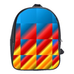 Gradient Map Filter Pack Table School Bags (xl)  by Simbadda