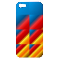Gradient Map Filter Pack Table Apple Iphone 5 Hardshell Case by Simbadda