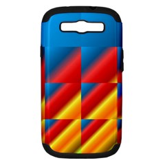 Gradient Map Filter Pack Table Samsung Galaxy S Iii Hardshell Case (pc+silicone) by Simbadda